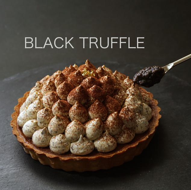 Black Truffle Tiramisu Lava Chocolate Tart