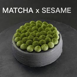 Matcha x Black Sesame Crepe