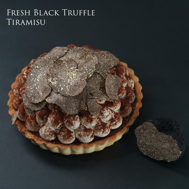 Fresh Black Truffle Tiramisu