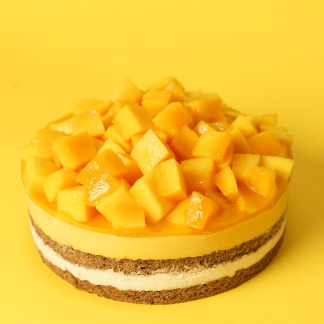 Mango Earl Grey Mousse