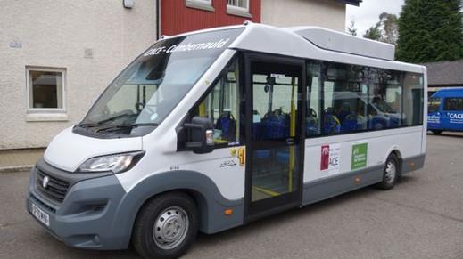 New electric minibus