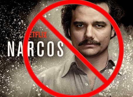 I don't watch Narcos. This is why.
