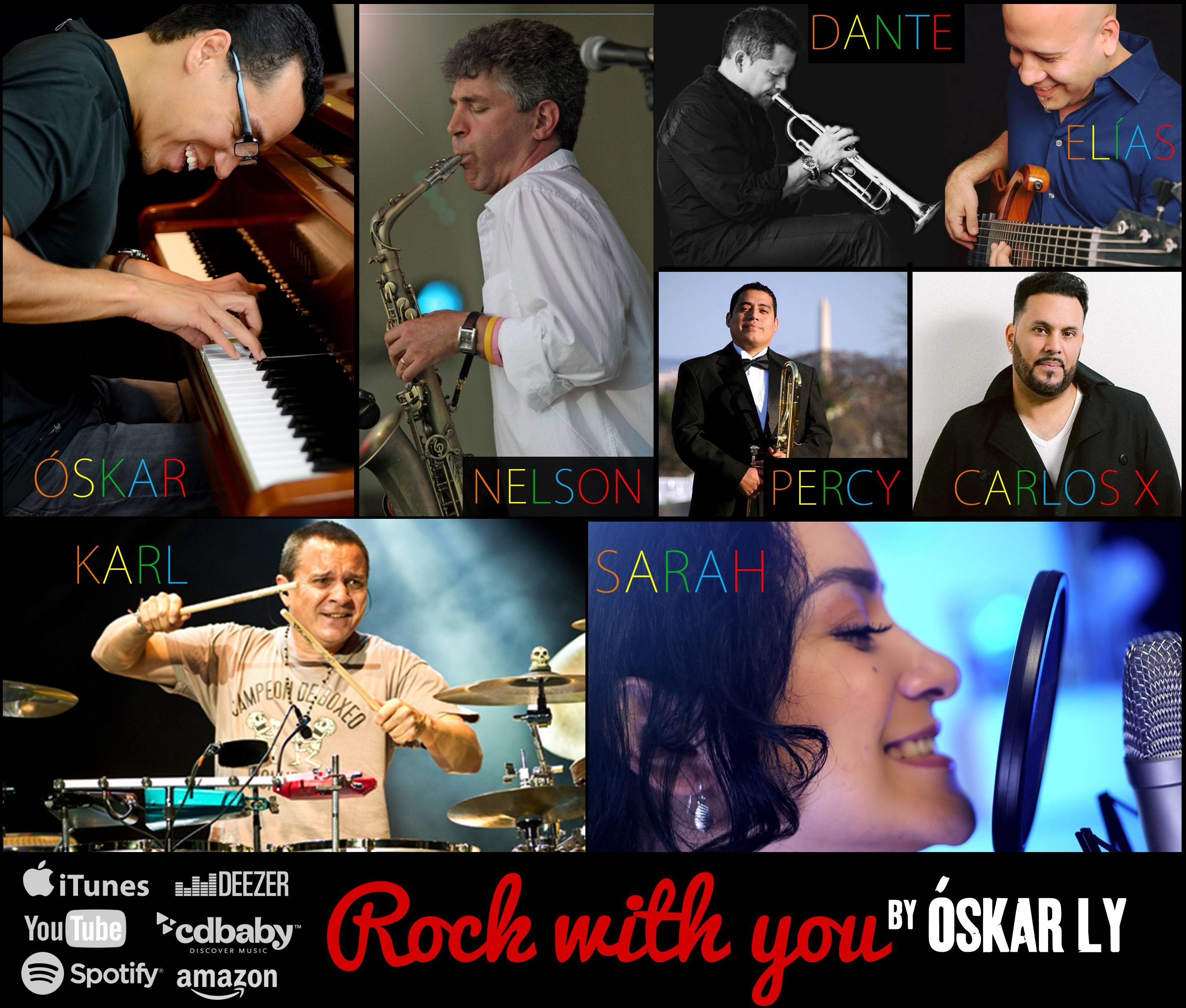 6. Musicians collage 2