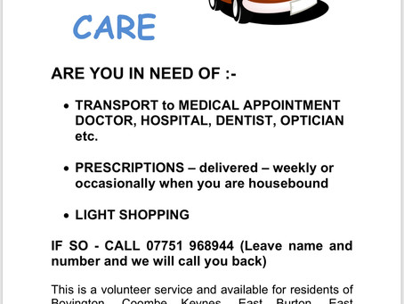 Share and Care service