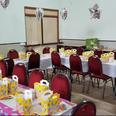 The Main Hall hired for a children's party