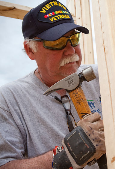 Habitat for Humanity Veteran Volunteer