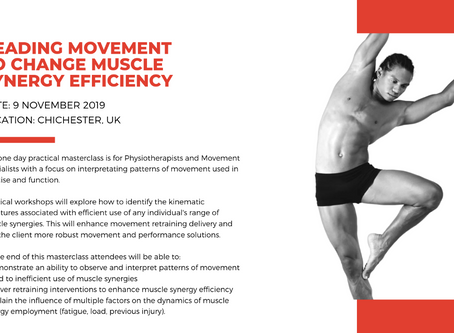 FIND OUT MORE ABOUT READING MOVEMENT TO CHANGE MUSCLE SYNERGY EFFICIENCY