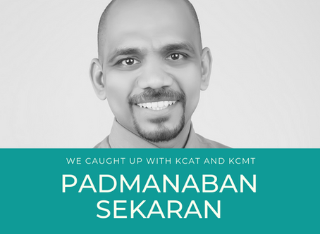 GET TO KNOW OUR TEAM - PADMANABAN SEKARAN