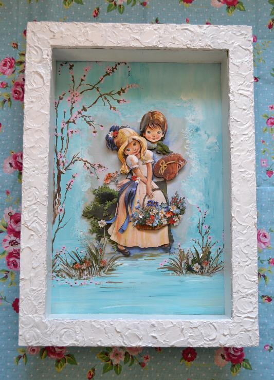 Arte Francesa por Tânia Amaral - Passo a Passo