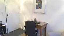 Sala do consultório em Pinheiros