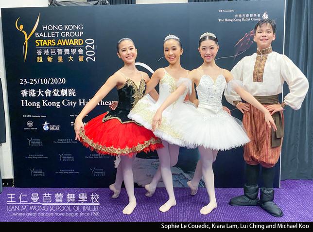 Sophie Le Couedic, Kiara Lam, Lui Ching and Micheal Koo