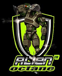 New Alien Logo Brown draft starred offic