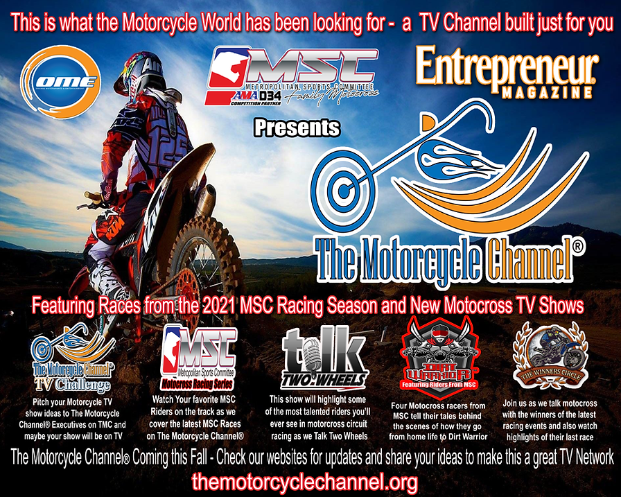MSC-OME presents The Motorcyce Channel4