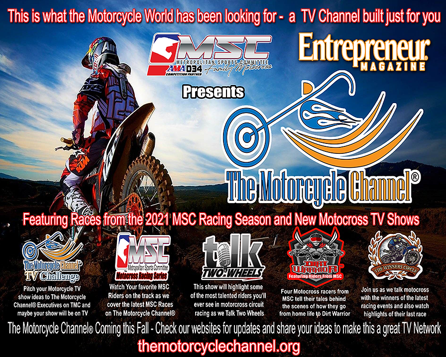 MSC-OME presents The Motorcyce Channel w