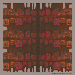 Ink Blot - Taupe/Brown