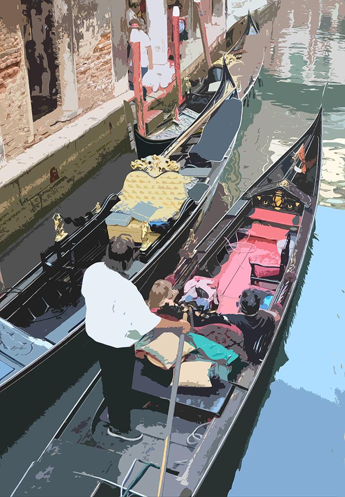 Gondola II, Venice