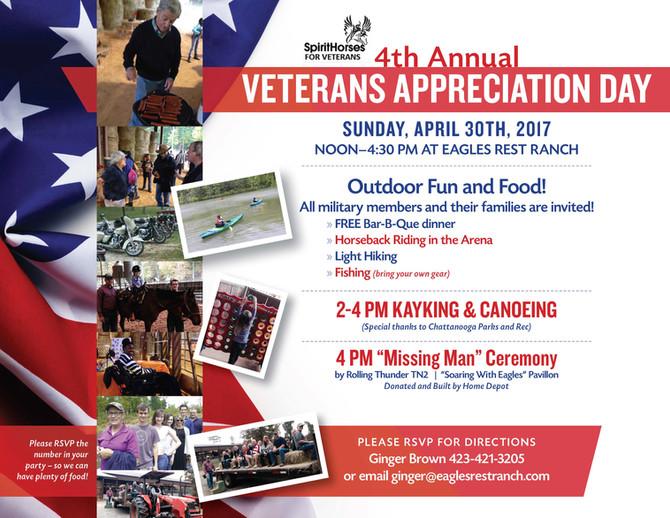 Annual Veterans Appreciation Day