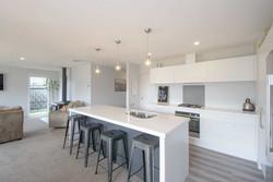 Family Open Living Kitchen