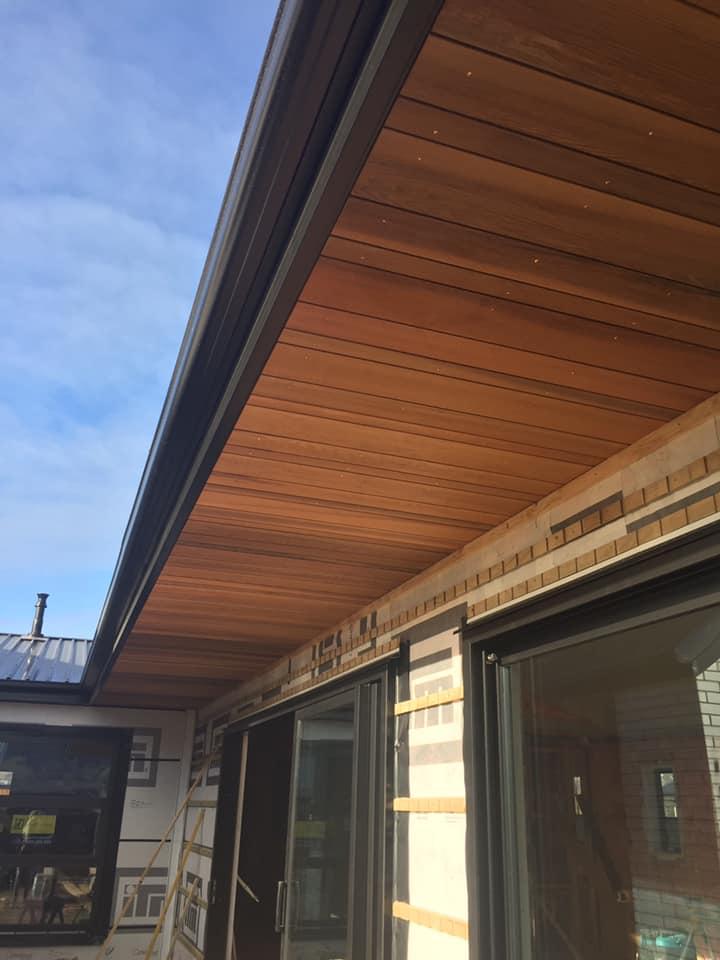 Cedar Roof Trimming