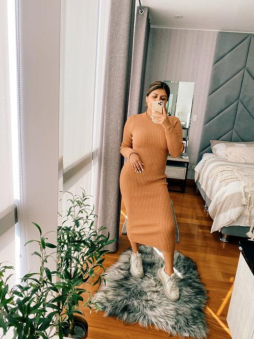 Vestido Middi Knit