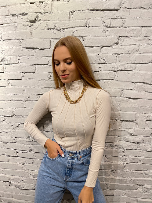 CHANEL TOP IVORY