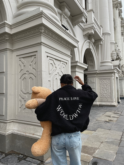 TEDDY BEAR JACKET LOVE