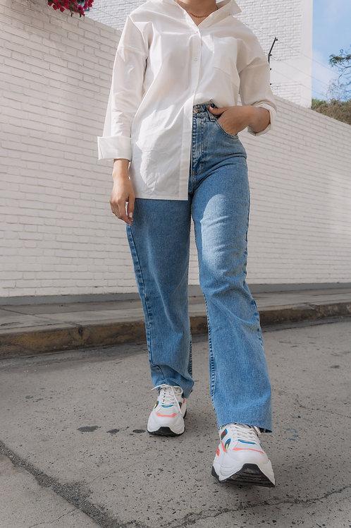 Wide leg jeans classic
