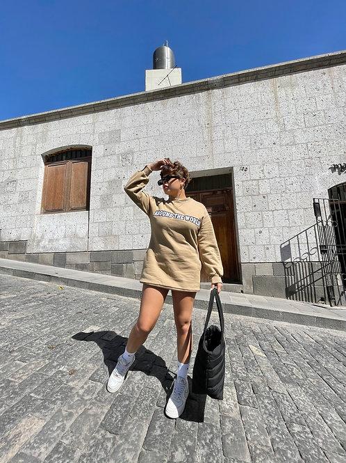 Around The World Maxi Sweater