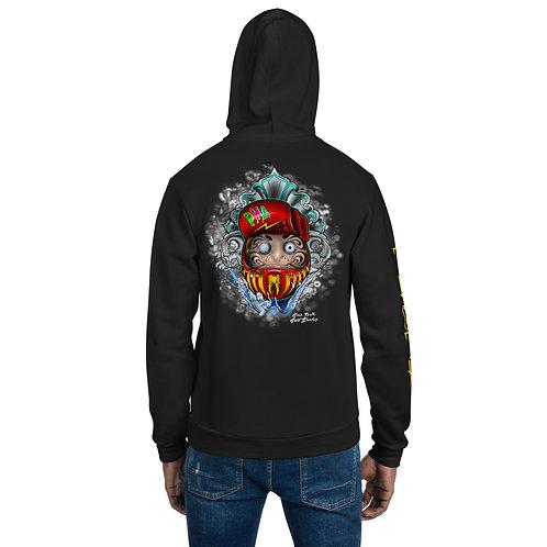 Daruma  Hoodie sweater zip
