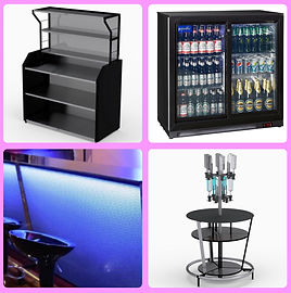 Mobile Bar Accessories