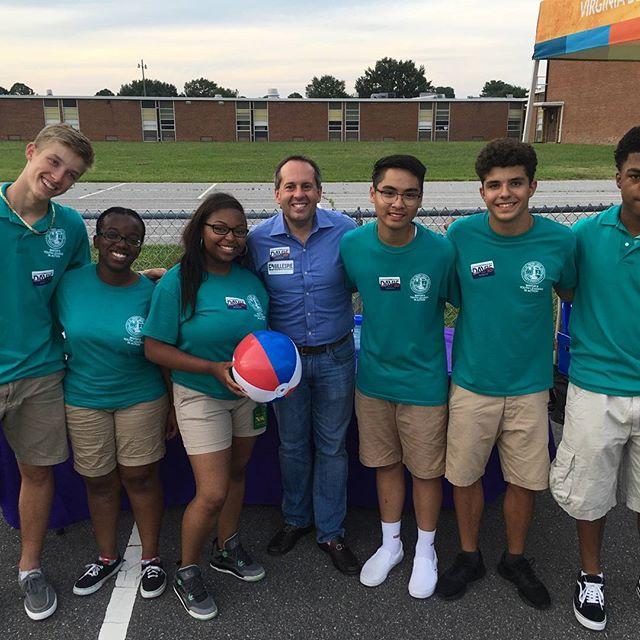 _VABeachMayor  Youth Leadership at _Gree