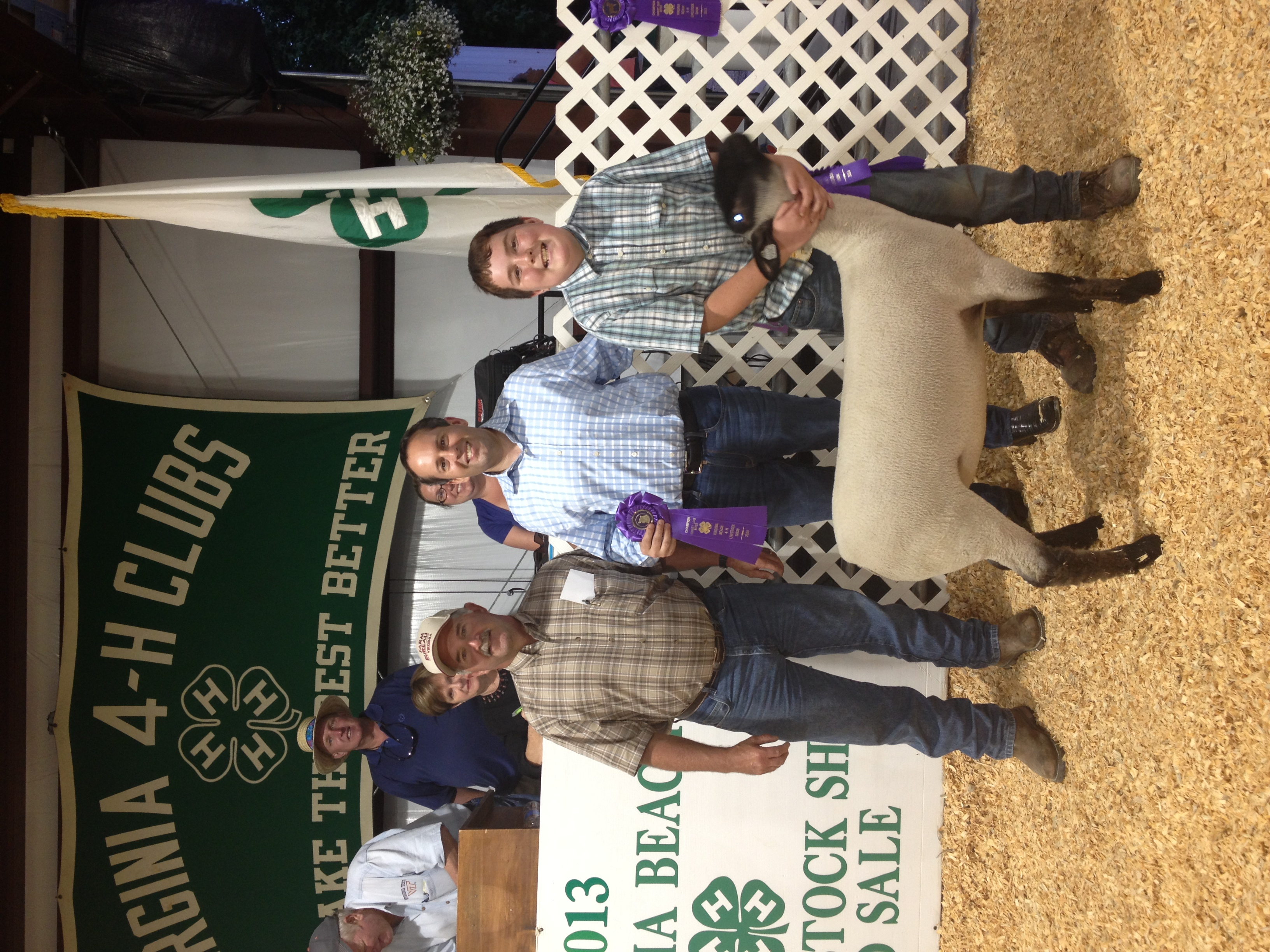 2013 4-H Livestock Show, Grand Champion Lamb