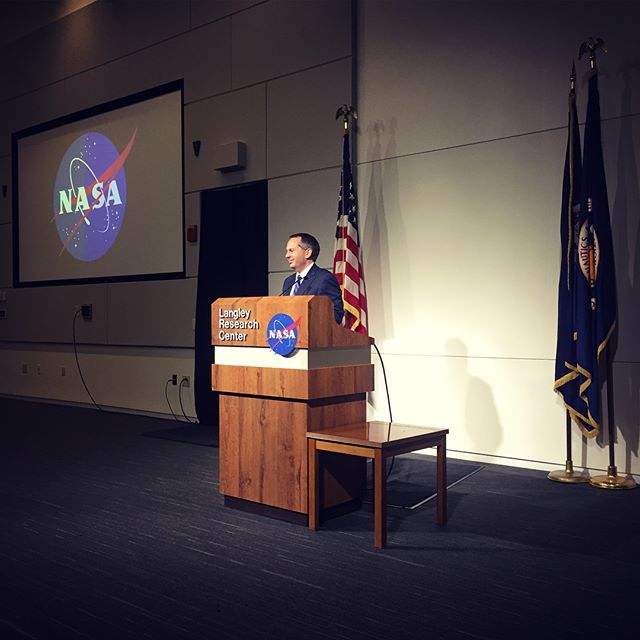The students in #NASA 's Aerospace and T