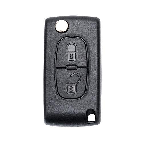 Ключ Пежо, с чипом, разные модели