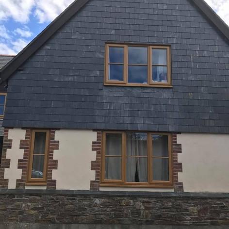 Beautiful UPVC Double Glazed Wood Effect Windows