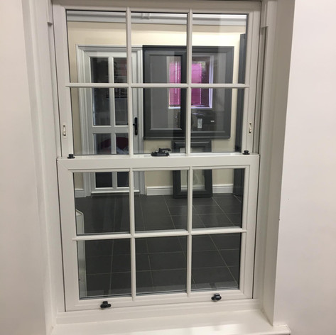 Classic White Casement Windows