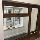 Wood Effect UPVC Casement Windows