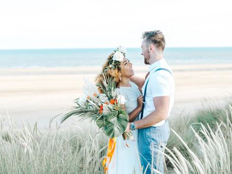 Wedding Planner Cambridgeshire Shares an Elopement to Camber Sands