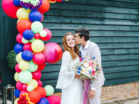 Wedding Planner Cambridgeshire shares Wildflowers from The Barn at Brookend Green Farm