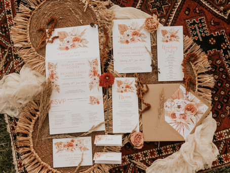 Wedding Planner Hertfordshire shares Boho Inspiration at Furtho Manor Farm