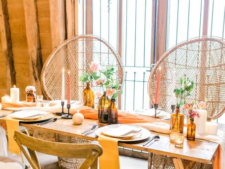 Wedding Planner Cambridgeshire Shares An Autumnal Vibe at Little Tey Barn