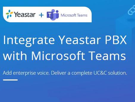 Yeastar + Teams Collaboration