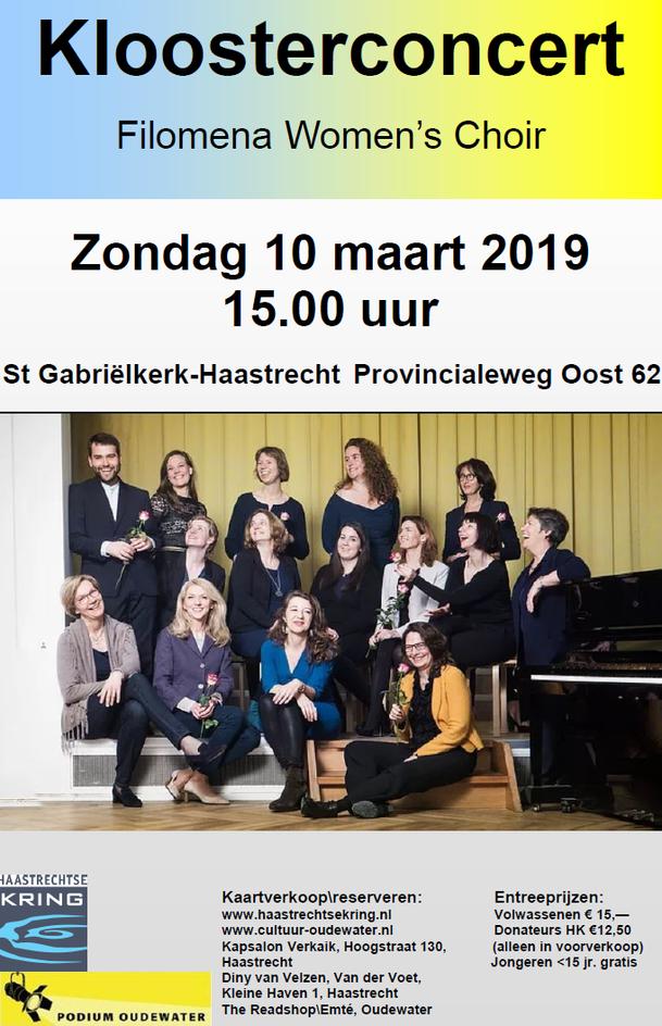 Maart 2019   Kloosterconcert