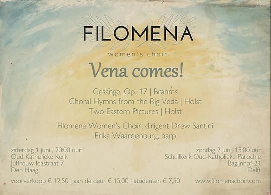 Flyer Vena comes!
