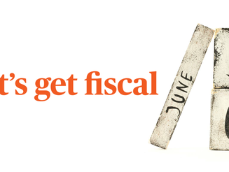 Let's get fiscal