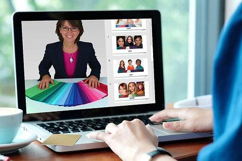 Online 1-2-1 Colour Analysis