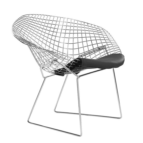 DIAMOND CHAIR BLACK or RED