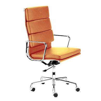 OFFICE CHAIR NO. 3 -Siena cognac Leather edition