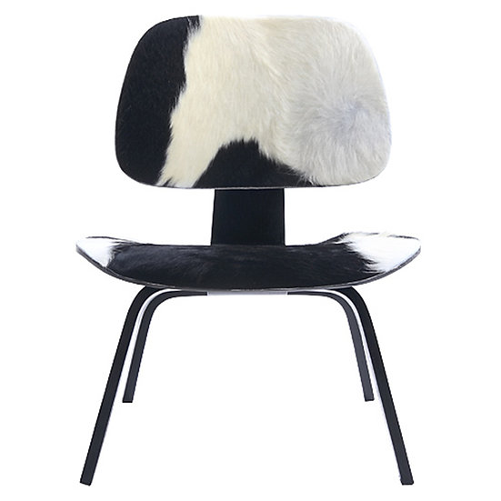 LOUNGE PLYWOOD CHAIR, COWHIDE