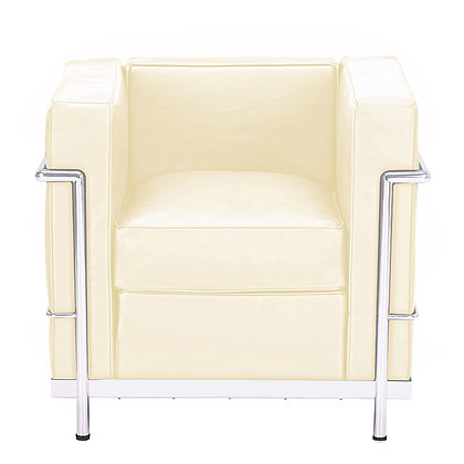 LC2 ARMCHAIR creme leather